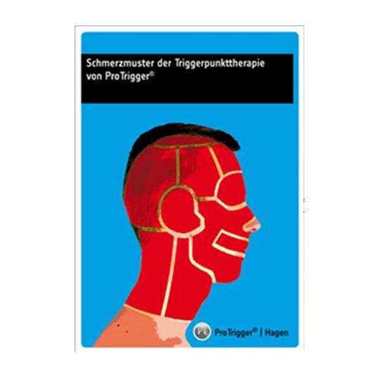 """Nachschlagewerk """"Schmerzmuster der Triggerpunkttherapie"""""""